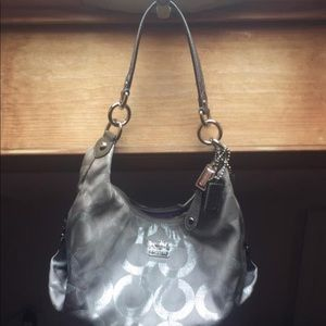 Authentic coach bag with serial number